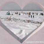 coeur à la pêche sur glace